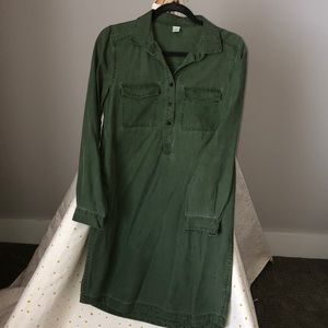 Old Navy Army Green Dress